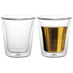 """BODUM - NEW """"Canteen"""" Thermo Cups Set of 8 Unboxed"""